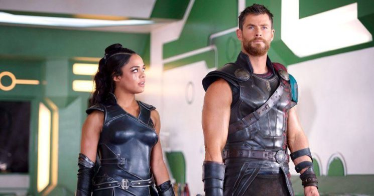 'Men in Black' Spinoff: Chris Hemsworth and Tessa Thompson Share Fun Set Photos