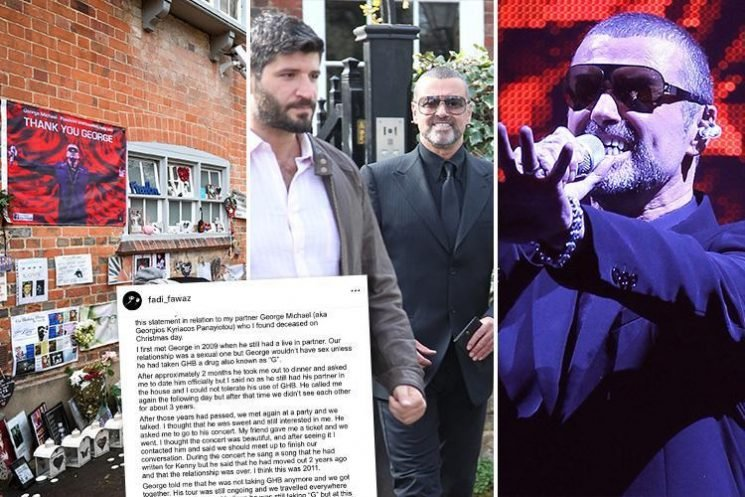 Boyfriend Fadi Fawaz's intimate account of finding George Michael's 'ice cold' body and the singer's sad last years