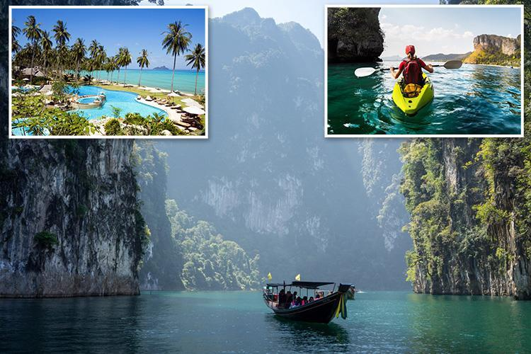 Humble canoe holds the key to endless holiday fun and adventure off the Thai party isle of Phuket