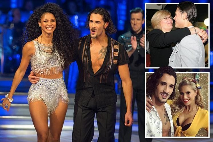 New Strictly star Graziano Di Prima says he is happy to be a sex symbol after being inundated with hundreds of messages from admirers after his debut