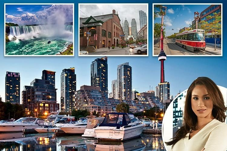From beautiful waterfalls to culinary hot spots – visit the cool Canadian city of Toronto which Meghan Markle once called home