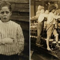 Harrowing pics reveal how 1900s US kids slaved in factories from the age of THREE and lost limbs in machinery accidents before child labour was abolished