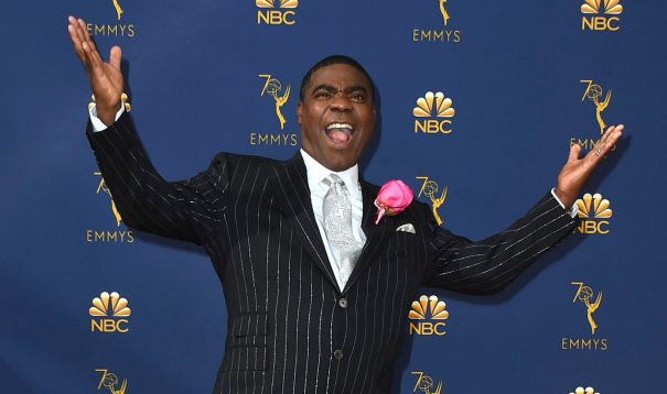 Tracy Morgan On Emmy Diversity, 70th Anniversary Show & Snakes In Australia – Backstage