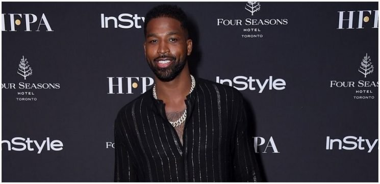 Tristan Thompson Spotted Leaving L.A. Club With Two Mystery Women