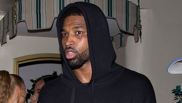 Tristan Thompson Spotted Leaving Club With 2 Mystery Women 5 Mos. After Cheating Scandal