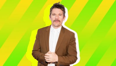 Ethan Hawke Is One Proud Dad