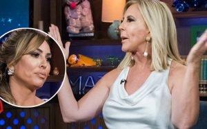 Vicki Gunvalson Slams 'RHOC' Co-Star on 'WWHL': 'Kelly Divorced a Millionaire Hoping for a Billionaire'