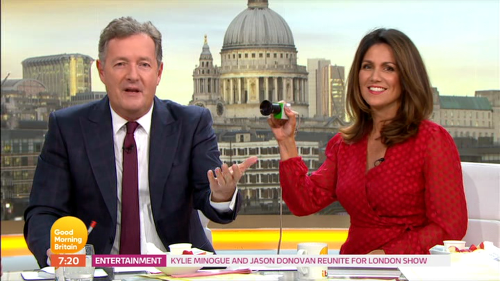 Next Article Good Morning Britains Piers Morgan Tells Susanna Reid She Looks Hot As Reveals Shes Lost A Stone By Ditching Booze