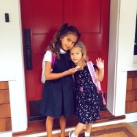 'And They're Off!' Bruce Willis' Youngest Daughters Pose on Their First Day Back to School