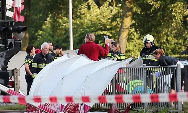 Four Dutch children killed in crash between train and 'cargo' bicycle