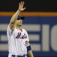 David Wright takes his emotional Mets curtain call