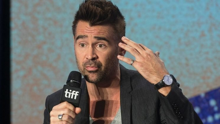 Colin Farrell defends use of N-word in new film 'Widows'