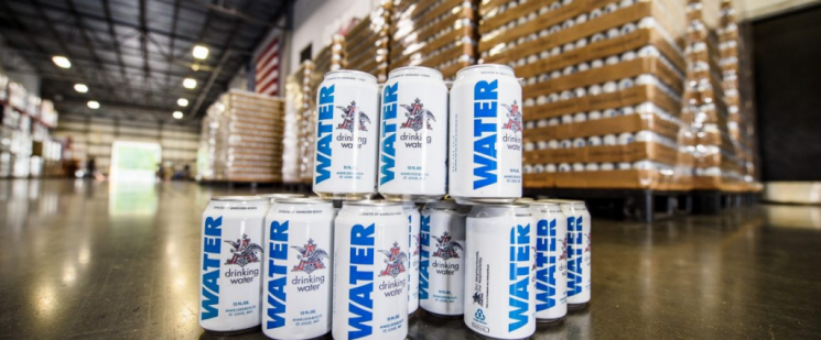 Anheuser-Busch sending 300,000 cans of water to Hurricane Florence victims