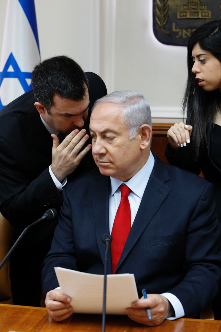 Netanyahu aide accused of assault takes leave of absence