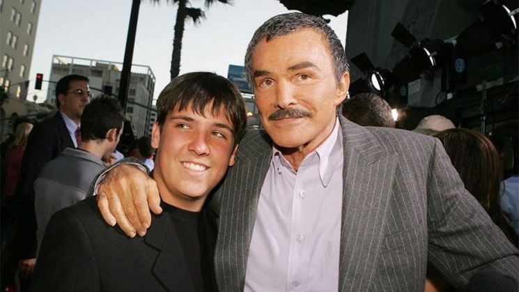 Burt Reynolds left son Quinton out of his will: report
