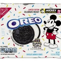 Oreos to feature Mickey Mouse designs in limited-edition product