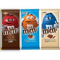 M&Ms to launch chocolate bars, hazelnut spread-flavored candies