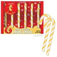 Mac and cheese candy canes cause social media frenzy: 'Is Santa mad at us?'