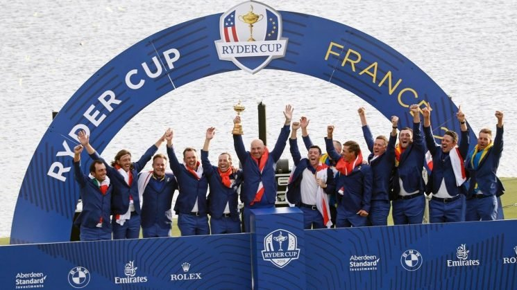 Europe dominates US to regain Ryder Cup