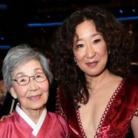 Sandra Oh brought her parents to the Emmys and OMG people can't get enough