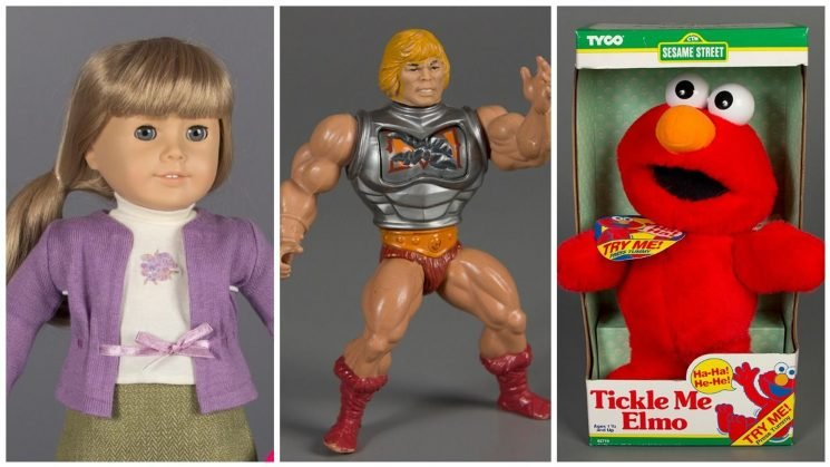 American Girl Doll, He-Man and Tickle Me Elmo throw down for Toy Hall of Fame honors