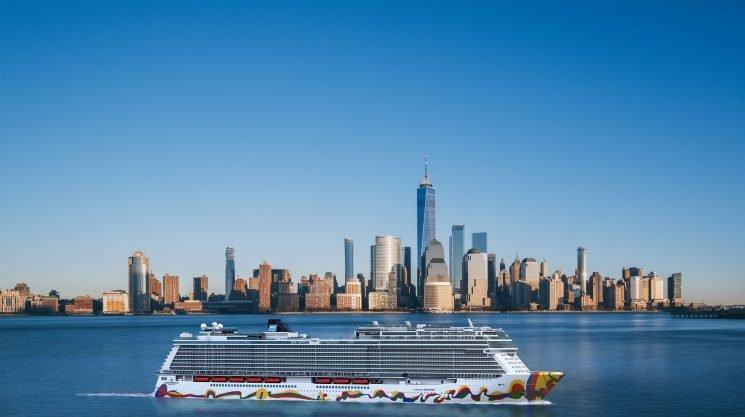 Giant new Norwegian Cruise Line ship Norwegian Encore to sail from New York