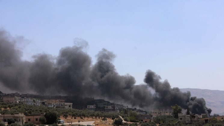 Trump tweets warning on Syria as offensive targets last rebel stronghold