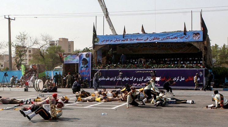 At least 25 killed as gunmen open fire at Iranian military parade