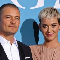 Katy Perry and Orlando Bloom couple up on first carpet together