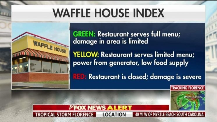Waffle House CEO in Wilmington, N.C. helping keep restaurants open after Hurricane Florence