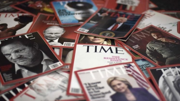 Time magazine latest lagging brand bailed out by tech titan turned old-media savior