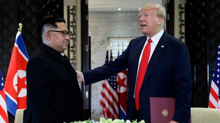 North Korea wants peace declaration ending Korean War, but Trump officials resisting