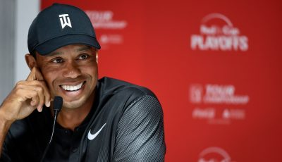 After exceeding his goals, Tiger is back at Tour Championship for first time since 2013