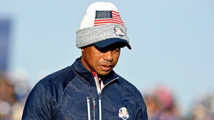 Tiger Woods hasn't won a Ryder Cup match since 2010