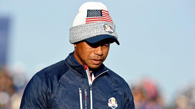 Tiger Woods hasn't won a Ryder Cup match since 2010