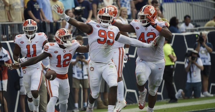 Clemson's College Football Playoff chances soar, but Alabama keeps pulling away