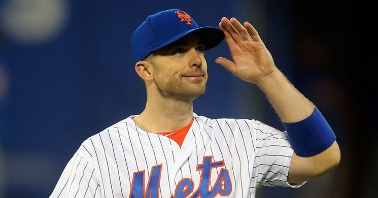 Fans pay tribute to Mets' David Wright