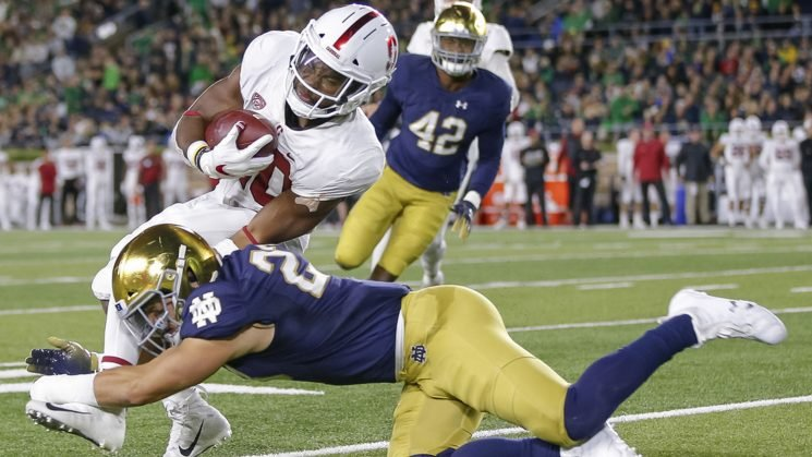 No. 8 Notre Dame blows way past No. 7 Stanford behind four touchdown throws by Ian Book