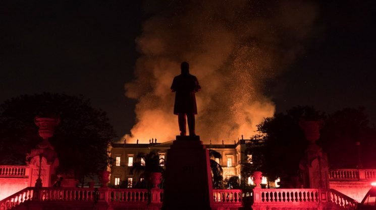 'Two hundred years of work' lost in fire at esteemed Rio museum