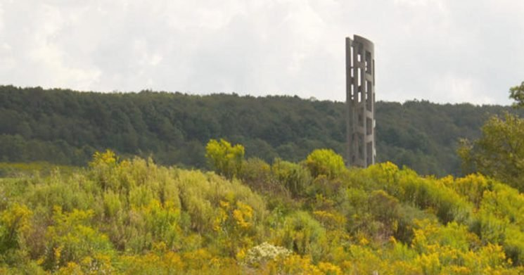 """Heroes of Flight 93 remembered at """"Tower of Voices"""" memorial"""