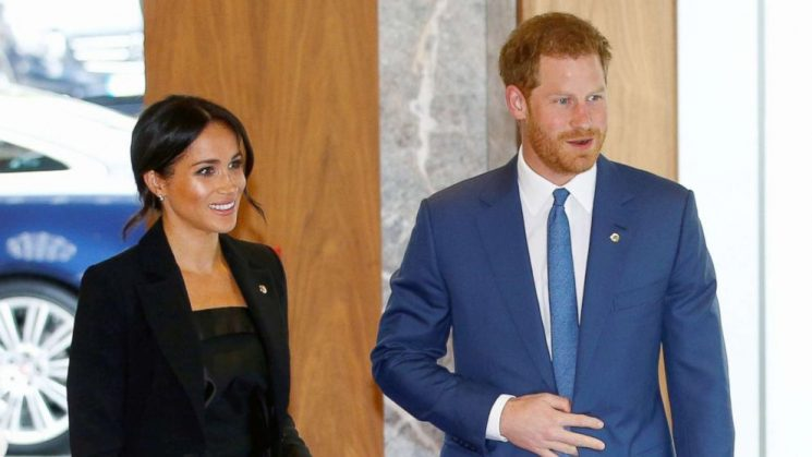 Prince Harry, Meghan step out to honor seriously ill children