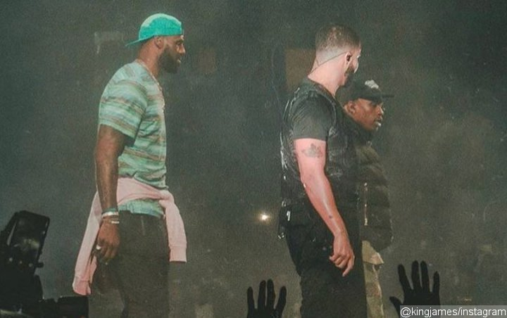 Video: LeBron James Shows Off Dance Moves Onstage at Drake's L.A. Show