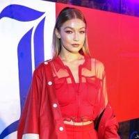 Braless Gigi Hadid Risks Wardrobe Malfunction in Very Daring Outfit