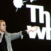 The Who singer reveals he saw 'exit sign' after knocking himself out