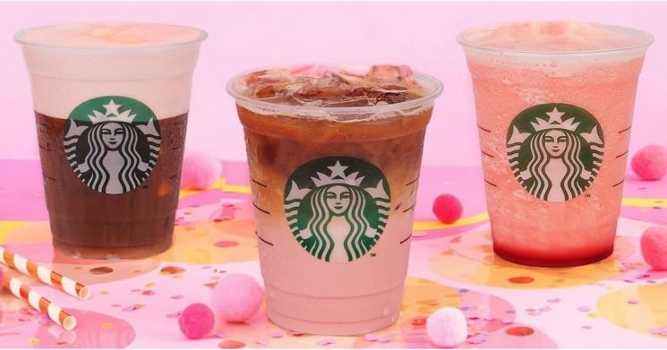 Starbucks Indonesia Released 3 Pretty Pink Drinks For Breast Cancer Awareness Month