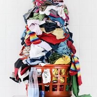 Wash your clothes less and get out the sewing kit