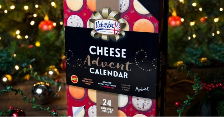 A $20 Cheese Advent Calendar Is Coming to Target, 'Cause Dreams Really Do Come True