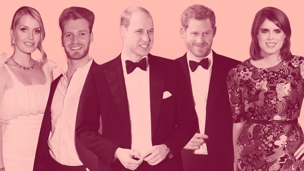 Your Guide to the Many Cousins of Prince Harry and Prince William