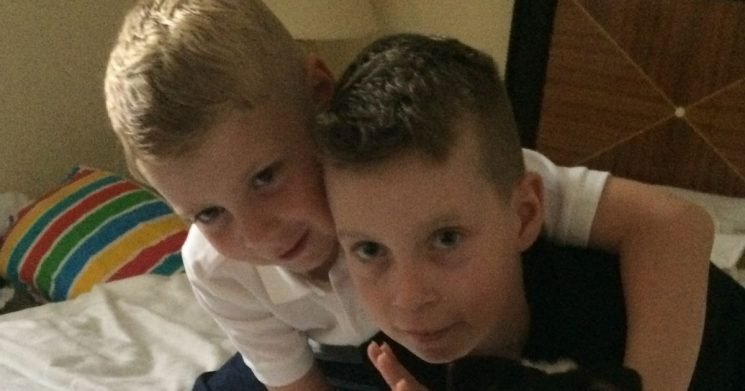 Schoolboy's tragic words to his dad just weeks before he died in parents' arms