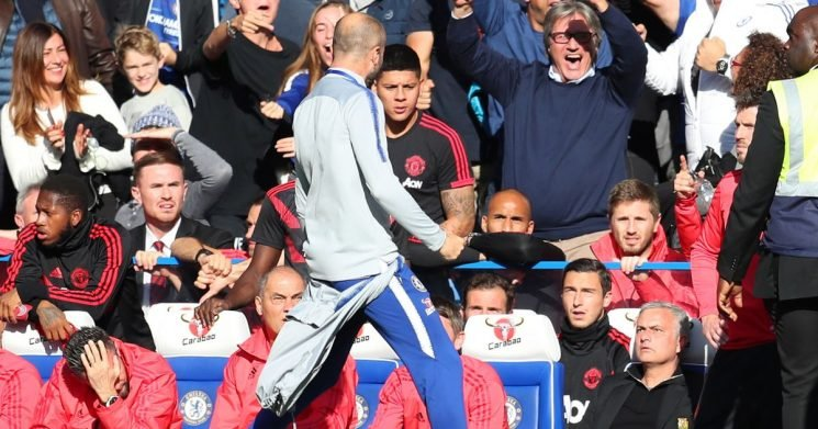 Chelsea coach should be sacked after Mourinho altercation, says Phil Neville